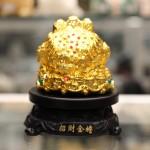 c065a coc vang 2 150x150 Cóc Vàng Trên Đế Gỗ Xoay C065A