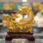 c076a rong vang 3 150x150 Rồng Vàng Phun Châu Như Ý C076A
