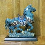 c107a ngua xanh kieu co 1 150x150 Ngựa kiểu cổ xanh xám C107A