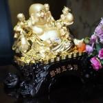 c134a di lac vang 1 150x150 Phật di lạc ôm đồng tử C134A