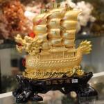 c186a thuyen buom rong vang 150x150 Thuyền buồm rồng vàng trên sóng vàng C186A