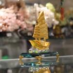 c189a thuyen vang hop kim 1 150x150 Thuyền buồm vàng bạch kim C189A