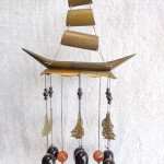 CG1233 2 150x150 Chuông gió thuyền buồm 6 chuông CG1233