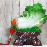 ln064 bap cai xanh khung mau don 1 150x150 Bắp cải xanh khủng trên bụi mẫu đơn đế gỗ LN064