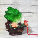 ln078 bap cai xanh tren gio mau don 1 150x150 Bắp cải xanh trên giỏ mẫu đơn lá sen LN078