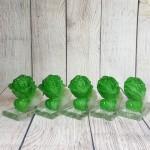 ln085 bap cai nho 2 150x150 Bắp cải xanh ngọc nhỏ trên đế thủy tinh LN085