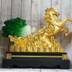 ln120 ngua vang keo cai 1 150x150 Thần ngựa vàng khủng kéo xe cải xanh trên đống tiền vàng LN120