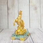 ln136 vua ngua nguyen bao 1 150x150 Vua ngựa vàng bóng trên nguyên bảo vàng tiền vàng đế thuỷ tinh LN136