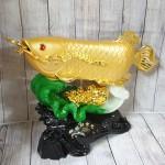 ln165 than ca kim long tren be cai1 150x150 Thần cá kim long vàng bóng trên bẹ cải như ý xanh sóng tiền vàng khủng LN165