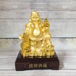 ln189 di lac cam ho lo vang 1 150x150 Phật di lạc cầm hồ lô và túi tiền vàng LN189