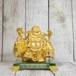 ln191 di lac quay vang 2 150x150 Phật di lạc vàng gánh thùng tiền LN191