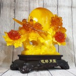 ln211 gio hoa mau don 1 150x150 Cây mẫu đơn hoa đỏ bên trăng vàng và uyên ương LN211