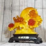 ln211 gio hoa mau don 150x150 Cây mẫu đơn hoa đỏ bên trăng vàng và uyên ương LN211