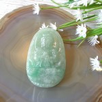 S6864 6 phat ban menh phi thuy xanh dam sac sao A lon2 150x150 Phật bản mệnh ngọc Phỉ Thúy xanh đậm sắc sảo A+ lớn tuổi Mùi, Thân S6864 6