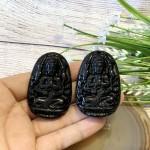 s6844 12 150x150 Phật bản mệnh đá hắc ngà lớn    Tý (Thiên Thủ Thiên Nhãn) S6844 1