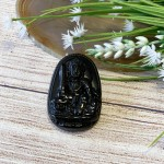 s6844 39 150x150 Phật bản mệnh đá hắc ngà lớn    Mão (Văn Thù Bồ Tát) S6844 3