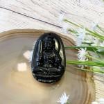 s6844 762 150x150 Phật bản mệnh đá hắc ngà lớn    Dậu (Bất Động Minh Vương) S6844 7