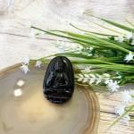 s6844 840 150x150 Phật bản mệnh đá hắc ngà lớn    Tuất, Hợi (A Di Đà) S6844 8