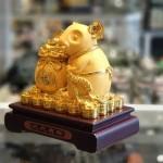 tm011 chuot vang tui vang 150x150 Chuột vàng kim sa ôm túi vàng TM011
