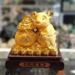 tm011 chuot vang tui vang 2 150x150 Chuột vàng kim sa ôm túi vàng TM011