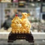 tm017 chuot vang kim sa tui tien 1 150x150 Chuột vàng kim sa ôm túi vàng TM017