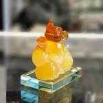 tm036 chuot vang cam ho lo 150x150 Chuột ngọc vàng cam đế thuỷ tinh TM036